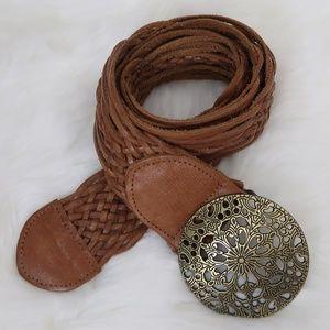 Hollister Leather Belt XS/S